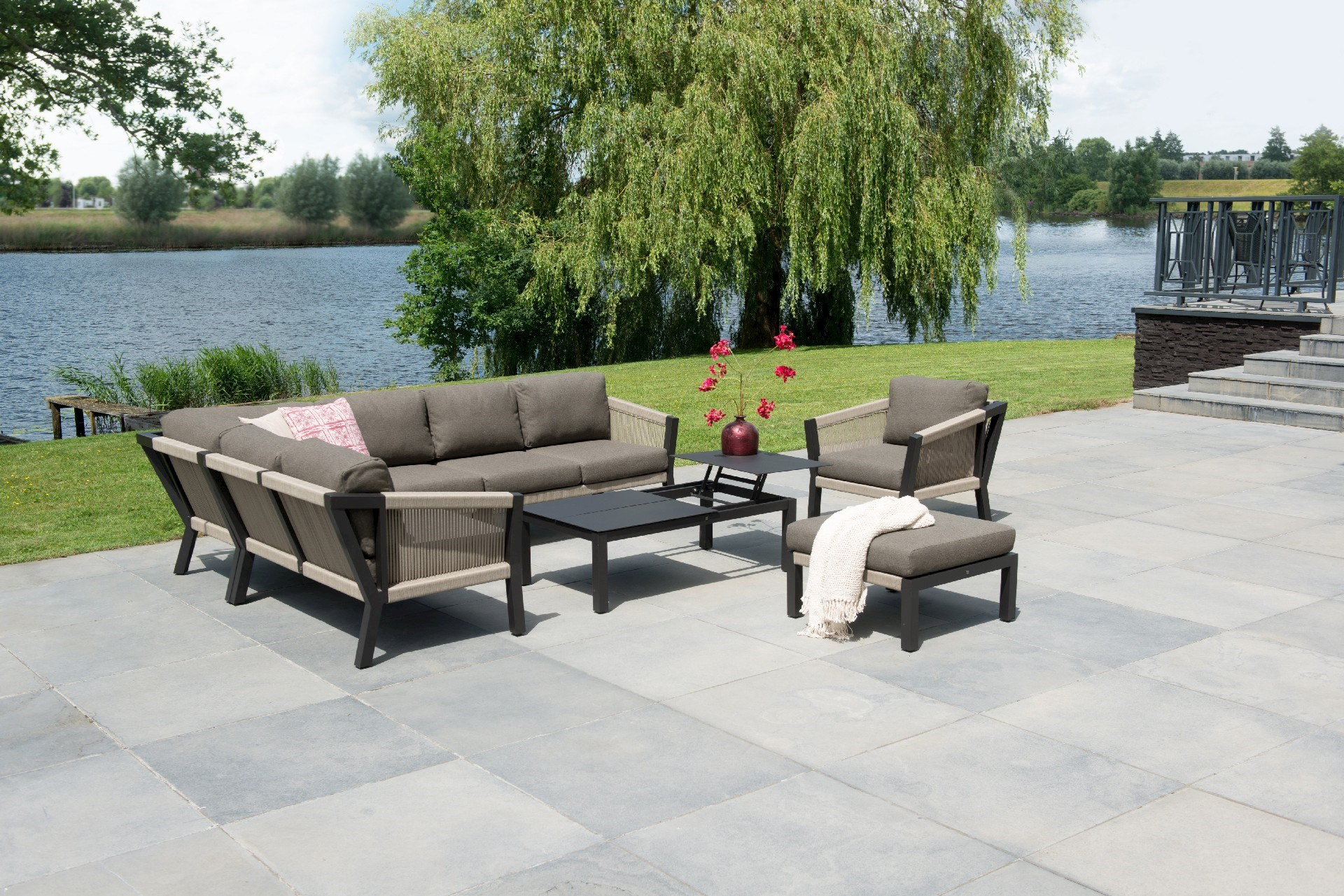 Loungeset tuin sale simple loungesets loungesets voor in uw tuin