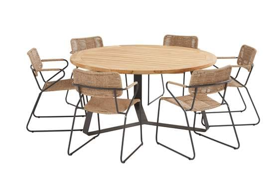 91143-91079-91080_ Swing natural dining set with round Basso table 160 cm.jpg